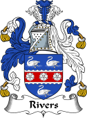 English Coat of Arms for Rivers II