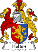 English Coat of Arms for Halton