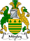 English Coat of Arms for Midgley