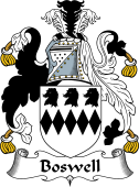 English Coat of Arms for Boswell