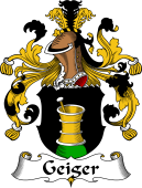 German Wappen Coat of Arms for Geiger