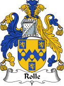 English Coat of Arms for Rolle