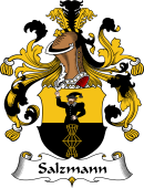 German Wappen Coat of Arms for Salzmann