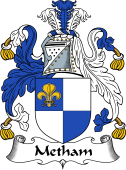 English Coat of Arms for Metham