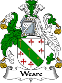 English Coat of Arms for Weare