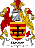 English Coat of Arms for Gower