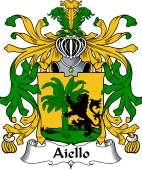 Italian Coat of Arms for Aiello