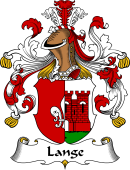 German Wappen Coat of Arms for Lange