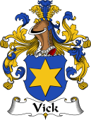 German Coat of Arms for Vick