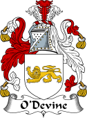 Irish Coat of Arms for O'Duane, O' Devine II
