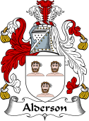 English Coat of Arms for Alderson