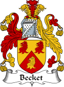Irish Coat of Arms for Becket