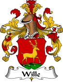 German Wappen Coat of Arms for Wille