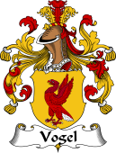 German Coat of Arms for Vogel