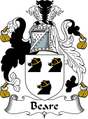 English Coat of Arms for Beare