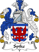 English Coat of Arms for Speke or Spike