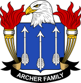 American Coat of Arms for Archer