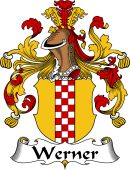 German Wappen Coat of Arms for Werner