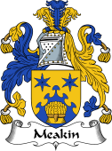 English Coat of Arms for Meakin