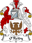 Irish Coat of Arms for O'Reidy