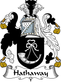 English Coat of Arms for Hathaway
