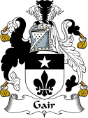 English Coat of Arms for Gair