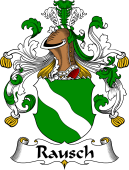 German Coat of Arms for Rausch