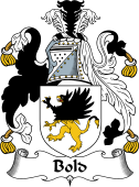 English Coat of Arms for Bold
