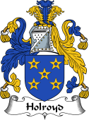 English Coat of Arms for Holroyd