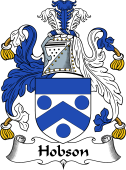 English Coat of Arms for Hobson