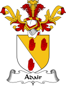 Coat of Arms from Scotland for Adair
