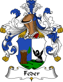German Coat of Arms for Feder