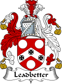 English Coat of Arms for Leadbetter or Leadbitter