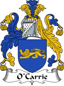 Irish Coat of Arms for O'Carrie or Carry