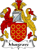 English Coat of Arms for Musgrave