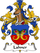 German Wappen Coat of Arms for Lahner
