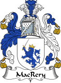 Irish Coat of Arms for MacRery or MacCrery