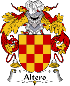 Portuguese Coat of Arms for Altero