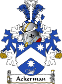 Dutch Coat of Arms for Ackerman