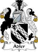 English Coat of Arms for Adler