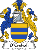 Irish Coat of Arms for O'Crehall