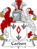 Irish Coat of Arms for Carden
