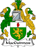 Irish Coat of Arms for MacGuinness or MacGinnis