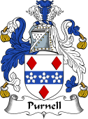 English Coat of Arms for Purnell