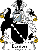 English Coat of Arms for Benton
