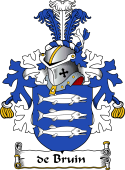Dutch Coat of Arms for de Bruin