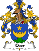 German Wappen Coat of Arms for Käser