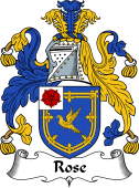 English Coat of Arms for Rose