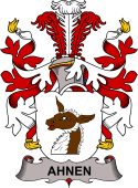 Danish Coat of Arms for Ahnen