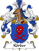 German Wappen Coat of Arms for Körber
